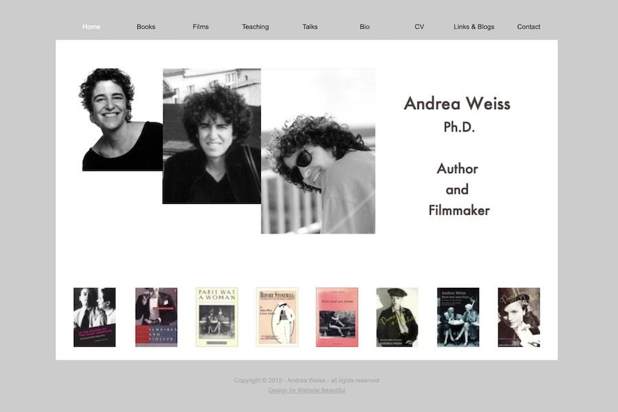 <center>Andrea Weiss</center>