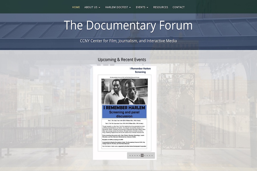 <center>CCNY Documentary Forum</center>