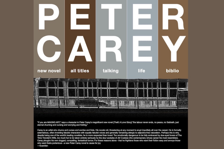 <center>Peter Carey</center>